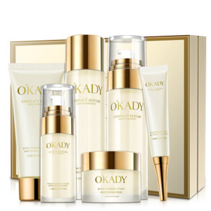OEM ODM Natural Whitening Skin Care Set Repairing Gift Set Cosmetics