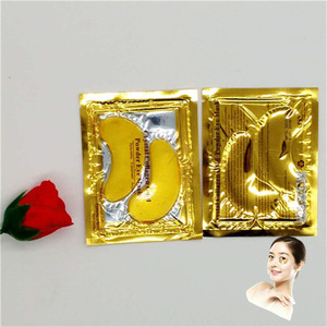 OEM / ODM Wholesale Custom 24k Gold Crystal Collagen Gel Eye Mask