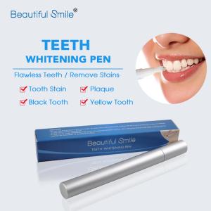 Popular 2ml/4ml Aluminium Bleach Remove Stains Silver Teeth Whitening Brush Gel Pen