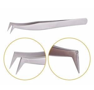 Professional Eyelash Extension Tweezers Women Beauty Eyebrow Plucking False Eyelash Manicure Custom Tweezers