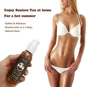 Summer Best Selling Bronze Body Self Sun Tanning Lotion For Skin Care
