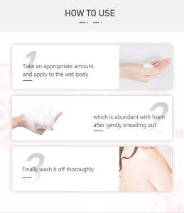 Wholesale Low Price Dates Body Wash Natural Exfoliating Alkaline Body Wash Enhance Skin Resistance