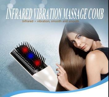 Drop Shipping Hair Growth Brush Head Massage Electric Plastic Hair Brush Massager Comb