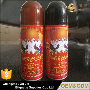 2018 GMPC China custom size best mens hair color spray styling products