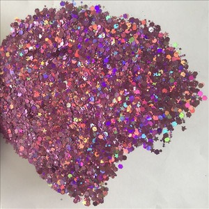Bulk mixed shapes chunky glitter for makeup and craft