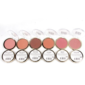 Factory Price Skin-Friendly Long Lasting Blush Glitter Bright Makeup Blusher In Stock