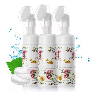 Mendior 2019 OEM Amino acid foam cleanser Deep cleansing foam facial cleanser