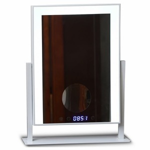 New Fashion Touch Screen LED Lighted Makeup Mirror Vanity Mirror Lighted Desktop Makeup Mirror