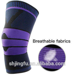New professional 7mm silica gel anti slip elbow & knee pads knee bandage  support sleeve for sports safety