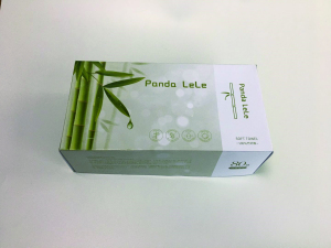 Panda LELE Net Weave Disposable Bamboo Washing Face Pad Removable Tissue Cosmetic Makeup Remover Tool Wet Dry Cloth Wipes