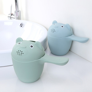 PAPA CARE  Children's Products Plastic Baby Head Hair Washing Cup Infant Bath Scoop Kids  Safety Shower Cups