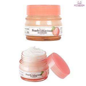 Skinfood Premium Peach Cotton Cream 63ml Sebum Adsorption Ingredient