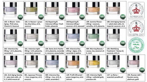 4. Face cream -  intense restructuring, Lifting, Anti-Aging
