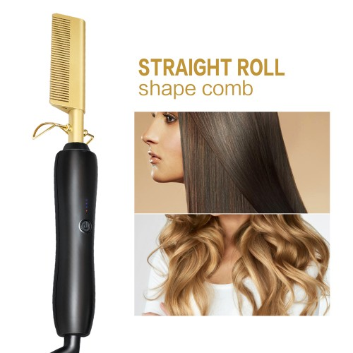 MK-317 high quality 230 degree ceramic hair straightener brush