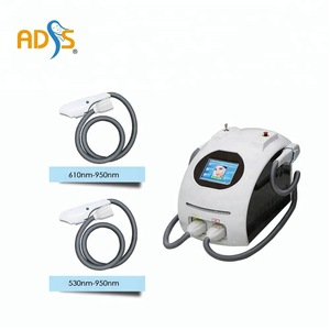 2018 hottest multi-function hair removal portable IPL machine add RF
