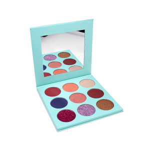 Eyeshadow Manufacturer 9 Color Makeup Private Label Eyeshadow Palette