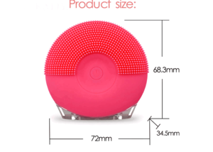 High quality skincare beauty device FDA silicone cleanser deep pore cleansing facial brush