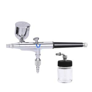 LinhaivetA cake air brush gun airbrush tattoo kit mini spray machine hobby set