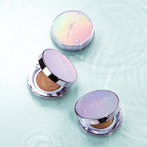 MAKEUP HELPER DOUBLE CUSHION GREEN TEA BLOSSOM