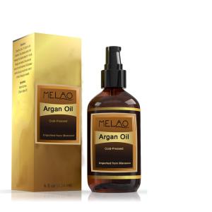 Melao 4 fl. oz. organic Natural Argan Oil Moroccan 100% Pure Face Nails Beard Cuticles OEM