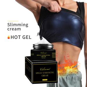 OEM Sales Sweet Sweat Gel Enhancing Slimming Fat Burning Body Shaping Lose Weight Massage Anti Cellulite Private Label Hot Cream