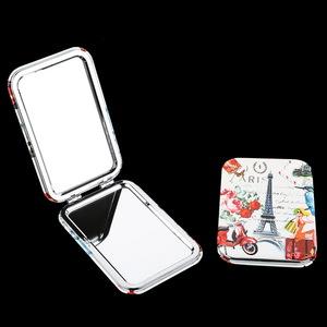 Personalized Square Travel Pocket Mirror Portable Cosmetic Mirror/Makeup Mirror