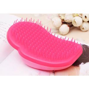 Small portable plastic detangling hair brush/detangler hair comb