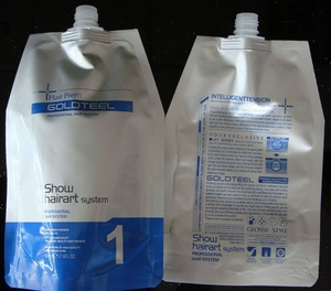 straight perm lotion ( for hair )