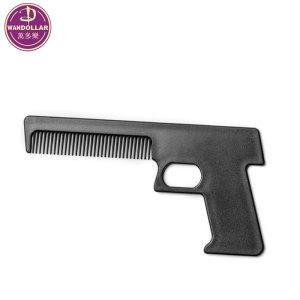 Wholesale Gun shape plastic comb