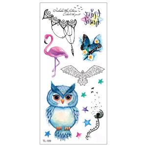 WST-TL-151---190 Body Sticker  Best Temporary Glitter Tattoos for Women