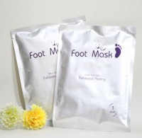 Direct Factory Selling / Anti wrinkle Lavender foot mask / Exfoliating peeling nourishing magic foot mask