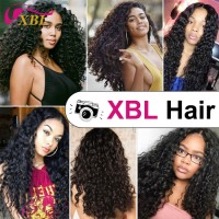 XBL Dropshipping Best Selling Water Wave Human Hair Weave Bundle 1/3 Piece 8-30 Inch Natural Black Virgin Hair Extension