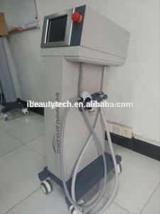 2017New product micro needle rf machine/rf equipment/microcurrent face and body slimming machine