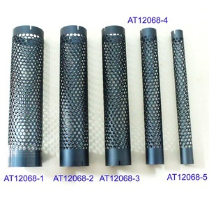 aluminum tube parts of hairbrush