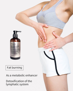 Amazon hot sale melao anti-cellulite massage oil make the body hot massage cream lost weight
