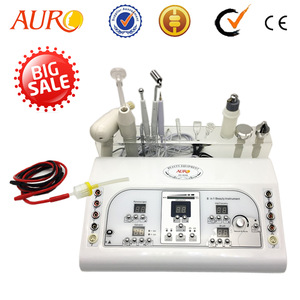 AU-8208 Multifunctional Ultrasonic Vacuum Galvanic Facial Machine Price