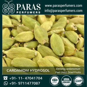 Cardamom Hydrosol , Natural Organic at wholesale bulk price