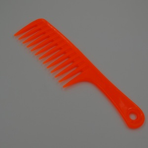 cheap colorful hair trimmer salon extra wide tooth comb for sale