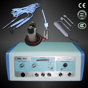 Effective skin care home use galvanic and vacuum for facial machine TM-264