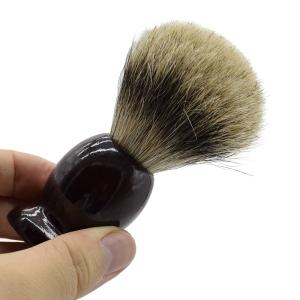 Facial Salon Badger Hair Beard Shaving Brush For Best Men Father Gift Mustache Barber Tool Facial Salon
