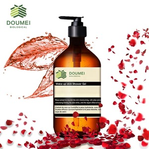 Free Sample Skin Clean Product Pure Natural Shower Gel