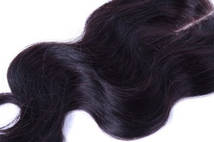 Good-Looking Reasonable Price Soft And Smooth Extensions Artificial Hair Closure Piece Pieces With Closure