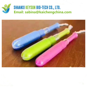 Individually wrapped tampons sanitary tampons factory for woman ks197