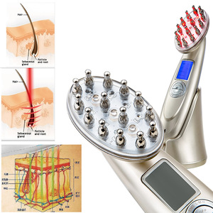 Japan new Laser Treatment Power Grow hair Comb and treatment Hair Loss Hot Regrow Therapy New Regrowth Cure AP-9901B