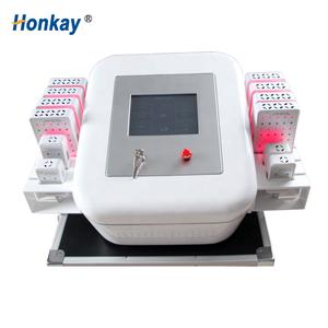 Latest non invasive lipo  laser slimming machine with 12 laser pads