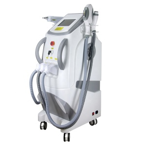 Magic Plus A0316 4 in 1 E Light IPL RF ND Yag Laser IPL Hair Removal Machine