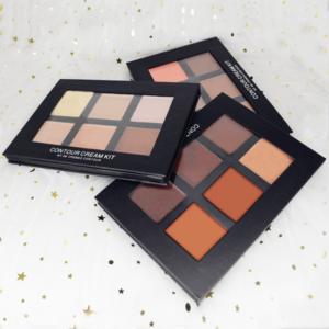 No logo waterproof concealer 6 colors makeup concealer palette make your own brand