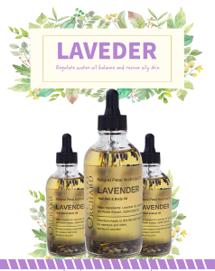 Private label Organic Natural 100% pure Lavender Multi-use essential oil dried flower oil
