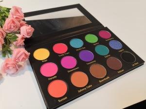 Professional Pigment Matte 15 Colors Bright Makeup custom printed eyeshadow palette