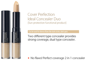 [The SAEM] Cover Perfection Ideal Concealer Duo. 3colors